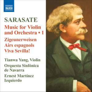 Sarasate: Music for Violin and Orchestra Volume 1