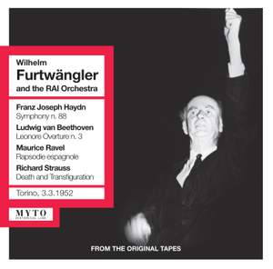 Wilhelm Furtwangler conducts Haydn, Beethoven, Ravel & Strauss Product Image