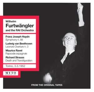 Wilhelm Furtwangler conducts Haydn, Beethoven, Ravel & Strauss