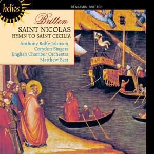Britten - St Nicolas & St Cecilia