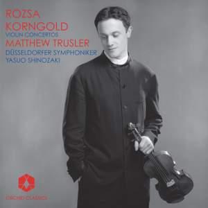 Korngold & Rózsa - Violin Concertos Product Image