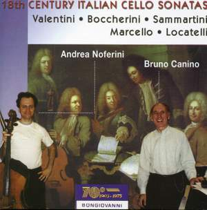 18th-century Italian Cello Sonatas