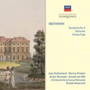 Beethoven: Symphony No. 9, Overtures, & Grosse Fuge
