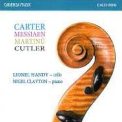 Lionel Handy plays Carter, Messiaen, Martinu & Cutler