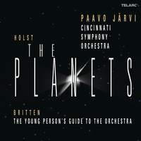 Paavo Jarvi conducts Holst & Britten