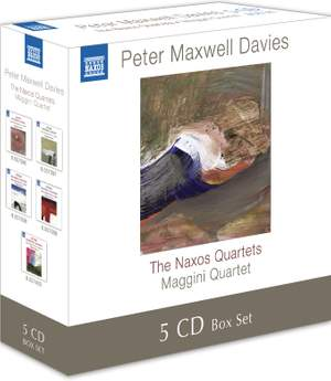 Davies, Peter Maxwell: Naxos Quartets Nos. 1-10