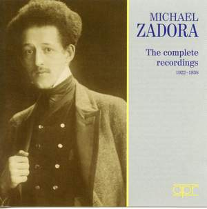 Michael Zadora - The complete Recordings