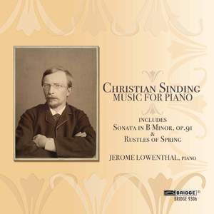 Sinding - Music for Piano