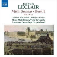 Leclair - Violin Sonatas Volume 3