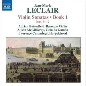 Leclair - Violin Sonatas Volume 3