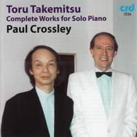 Takemitsu - Solo Piano Music