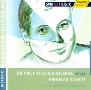 Dietrich Fischer Dieskau sings Schütz Product Image