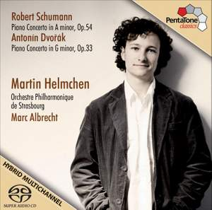Martin Helmchen plays Schumann & Dvorak