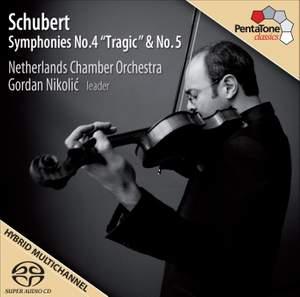 Schubert - Symphonies Nos. 4 & 5