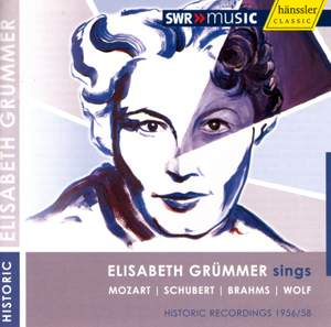 Elisabeth Grümmer sings Mozart, Schubert, Brahms & Wolf
