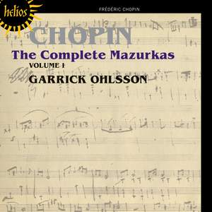Chopin - The Complete Mazurkas Volume 1 Product Image