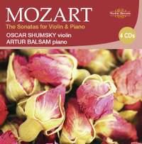 Mozart -The Sonatas for Violin & Piano