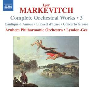 Markevitch - Complete Orchestral Works Volume 3