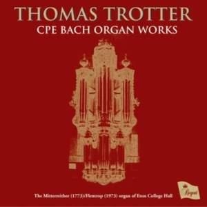 CPE Bach: Organ Works