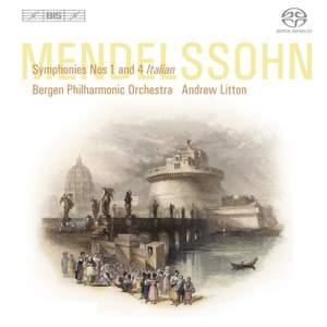 Mendelssohn - Symphonies No. 1 & 4 Product Image