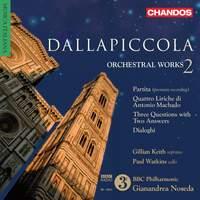 Dallapiccola - Orchestral Works Volume 2