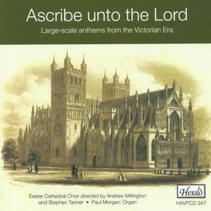 Ascribe unto the Lord