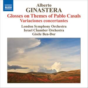 Ginastera - Glosses on Themes of Pablo Casals Product Image