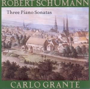 Robert Schumann: Three Piano Sonatas Product Image