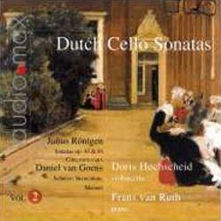 Dutch Sonatas for Violoncello and Piano Volume 2