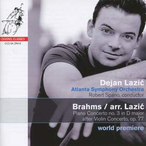 Brahms/Lazic - Piano Concerto No. 3 in D major