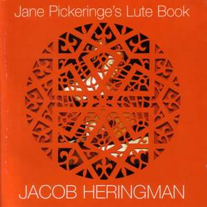 Jane Pickeringe's Lute Book