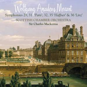 Mozart - Symphonies Nos. 29, 31, 32, 35 & 36 Product Image
