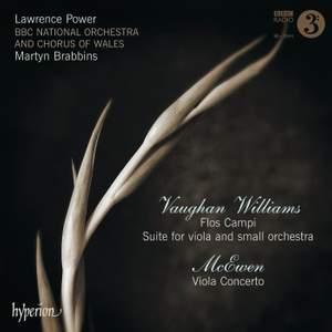 Vaughan Williams/McEwen: Flos Campi & Viola Concerto