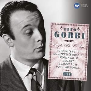 Tito Gobbi: The Complete Solo Recordings Product Image