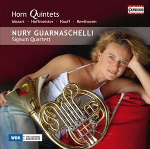 Mozart, Hauff, Hoffmeister & Beethoven: Horn Quintets