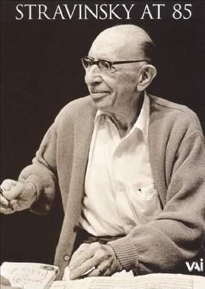 Stravinsky at 85
