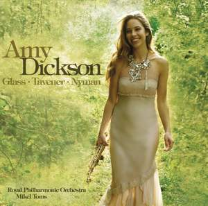 Amy Dickson plays Glass, Tavener & Nyman