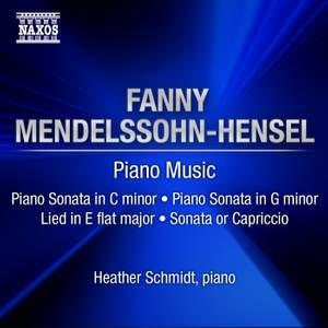 Fanny Mendelssohn - Piano Sonatas