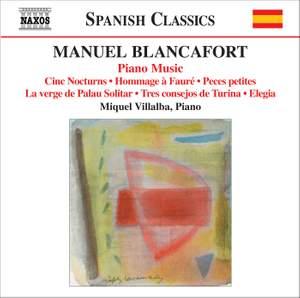 Blancafort: Complete Piano Music, Volume 5