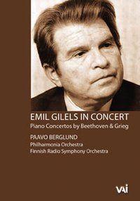 Emil Gilels in Concert