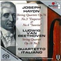 Quartetto Italiano play Haydn & Beethoven