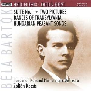 Bartok: Suite No. 1 & Two Pieces