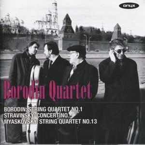 Borodin Quartet play Borodin, Stravinsky & Miaskovsky