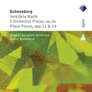 Schoenberg - Orchestral and Piano Pieces