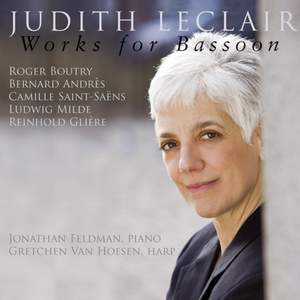Judith Leclair - Works for Bassoon