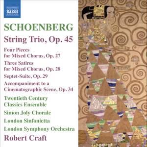 Schoenberg - String Trio, Op. 45