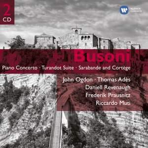 Busoni - Piano Concerto & Turandot Suite