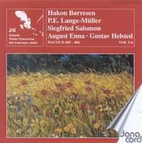 Danish Violin Concertos Volume 3