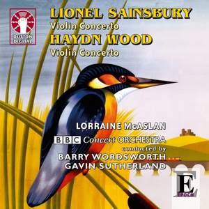 Lionel Sainsbury & Haydn Wood - Violin Concertos Product Image