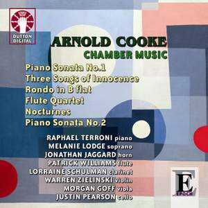 Arnold Cooke - Chamber Music